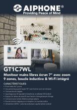 Aiphone flyer - GT1C7WL - FR