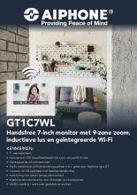 Aiphone flyer GR1C7WL - NL